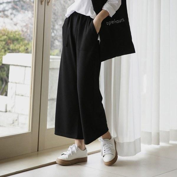 [P] Keyst wide Pants P_P2740