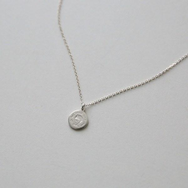 [P] Rave Necklace [Silver] P_J509