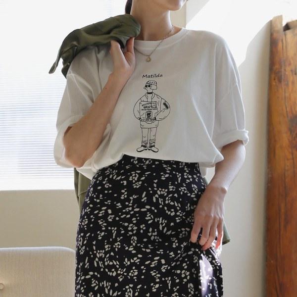 [P] Nudia Short-sleeve T-shirt P_T8043